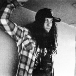 Kurt Vile One Trick Ponies Jo McCaughey Black and white bottle it in