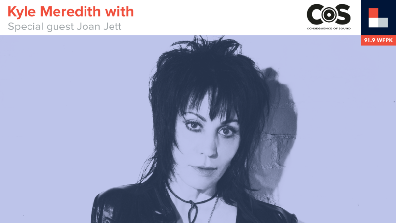 Kyle Meredith with Joan Jett