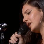 "Watch Lana Del Rey debut ""How To Disappear"" at Apple Event Brooklyn"