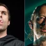 Liam Gallagher and Thom Yorke of Radiohead