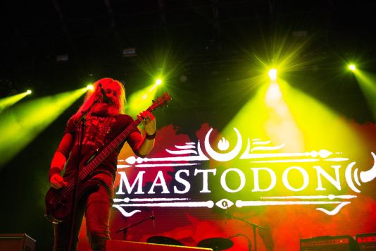 Mastodon, Adult Swim Festival, photo by Adult Swim