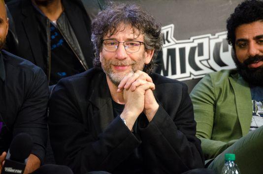 Neil Gaiman New York Comic Con 2018 Ben Kaye-76
