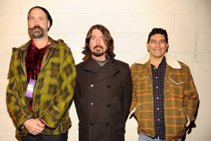 Nirvana members reunite at Cal Jam