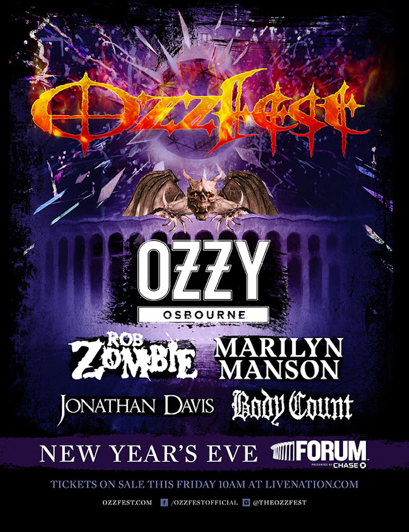 Ozzfest New Year's Eve