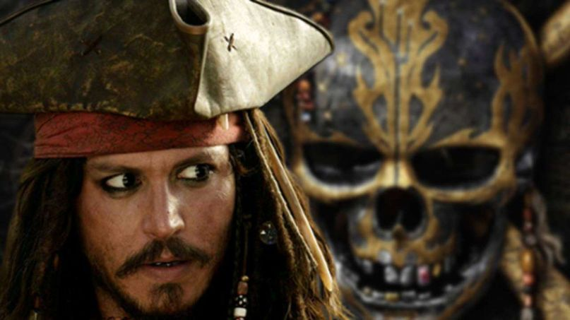 Johnny Depp in Pirates of the Caribbean