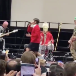 Red Hot Chili Peppers Perform Halloween School Assembly
