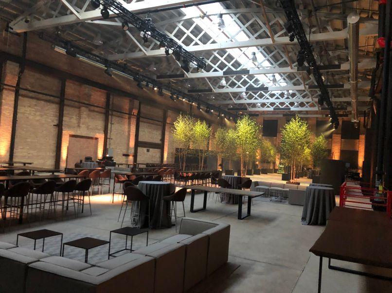 saffron rails north hall Saffron Rails Is the Most Exciting New Venue in Chicago