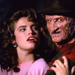 Heather Langenkamp and Robert Englund, A Nightmare on Elm Street