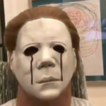 LeBron James as Michael Myers