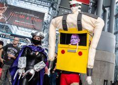 Shredder and Krang Teenage Mutant Ninja Turtles New York Comic Con 2018 Ben Kaye-29
