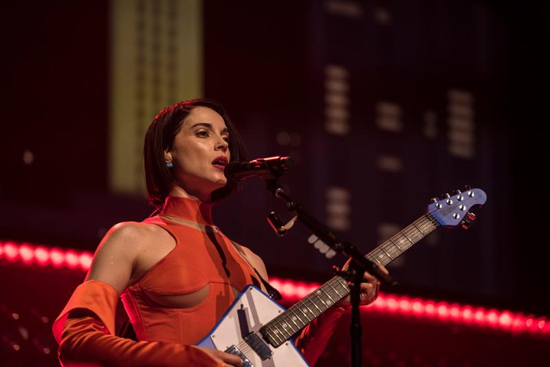 St Vincent performing on Austin City Limits