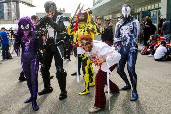 Symbiotes Venom Carnage Cletus Kasady Agony Scream New York Comic Con 2018 Ben Kaye-50