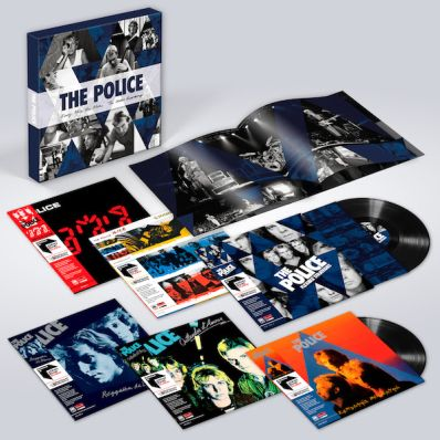 the police box set 1 The Police announce new box set Every Move You Make: The Studio Recordings