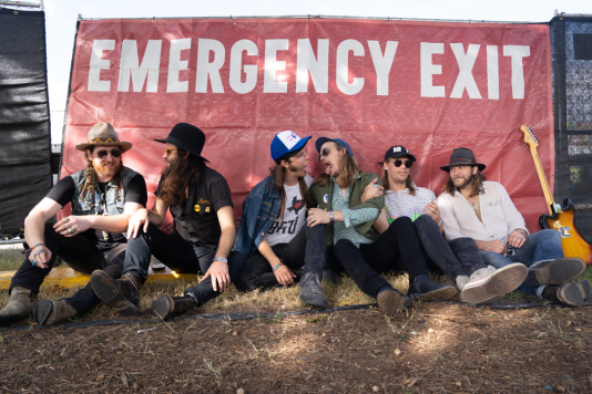 The Texas Gentlemen, Austin City Limits 2018, photo by Amy Price
