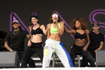 Tinashe, Austin City Limits 2018, photo by Amy Price
