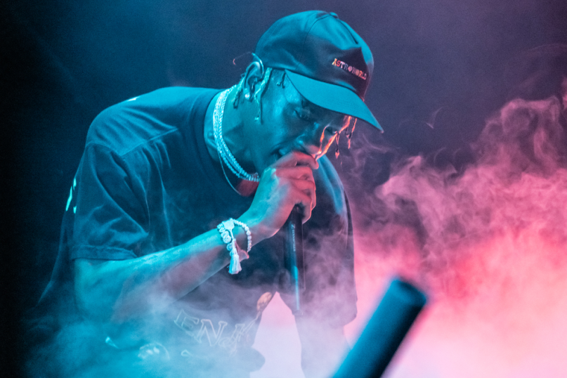 Travis Scott, Austin City Limits 2018, photo by Amy Price