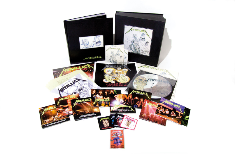 and justice for all deluxe box set Metallica unleash jam packed deluxe reissue of ...And Justice For All: Stream
