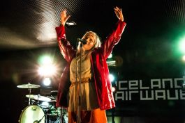 Aurora // Iceland Airwaves // Photo by Lior Phillips