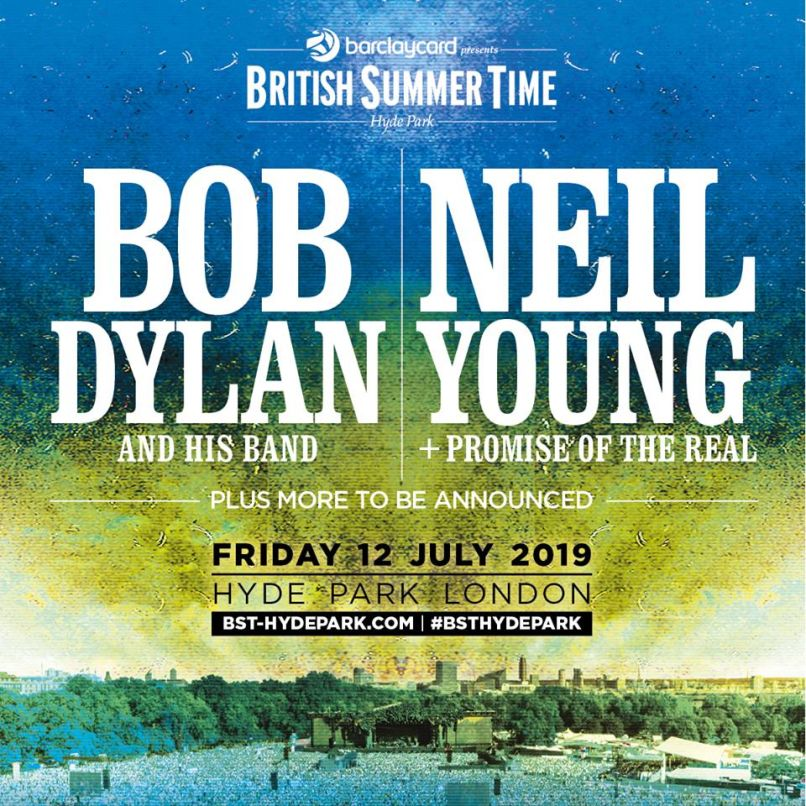 Bob Dylan Neil Young BST