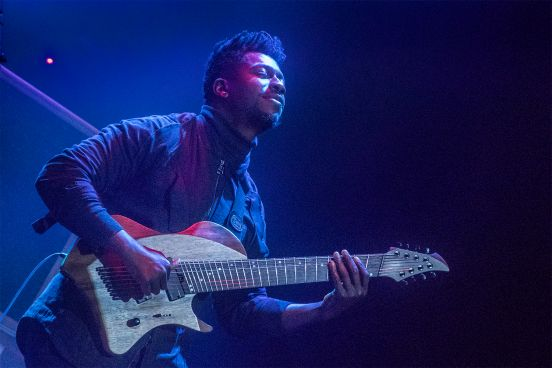Tosin Abasi, photo by Antonio Marino Jr.
