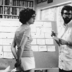 Gloria Katz with George Lucas
