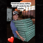 Lady Gaga brings pizza, mental health support to California wildfire victims