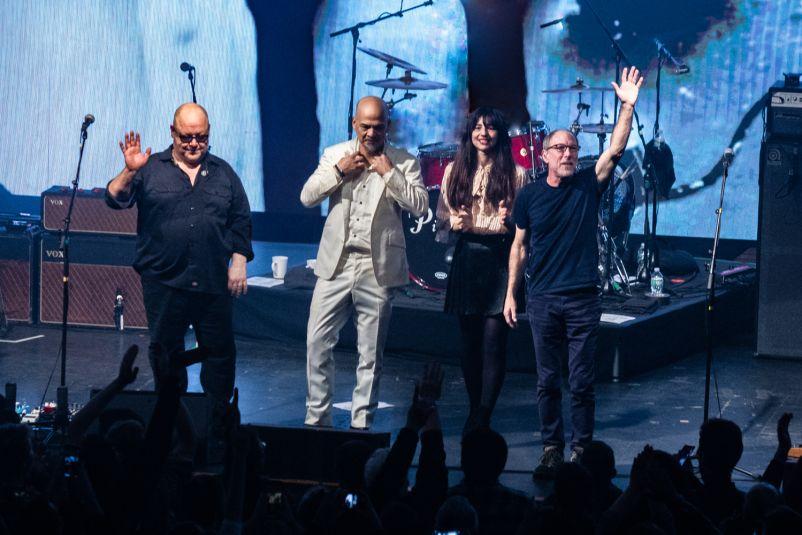Pixies, photo by Johnny Perilla