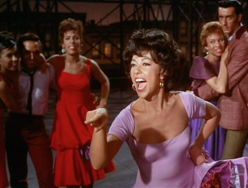 Rita Moreno in original West Side Story (1959)