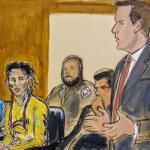 Tekashi 6ix9ine courtroom sketch
