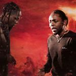 Travis Scott and Kendrick Lamar