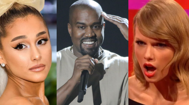 Ariana Grande, Kanye West, Taylor Swift among 2019 Grammy snubs