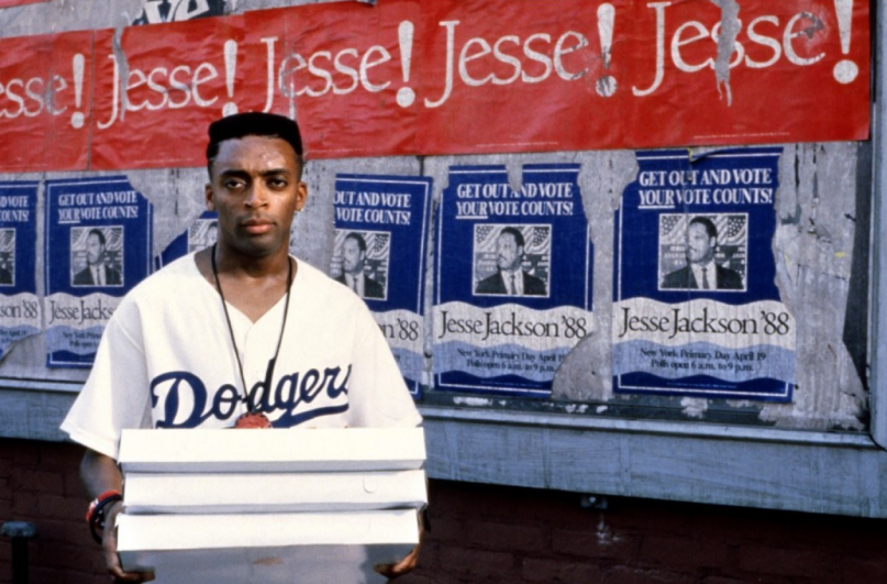 """Spike Lee in """"Do the Right Thing"""""""