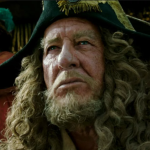 "Geoffrey Rush, ""Pirates of the Caribbean"""