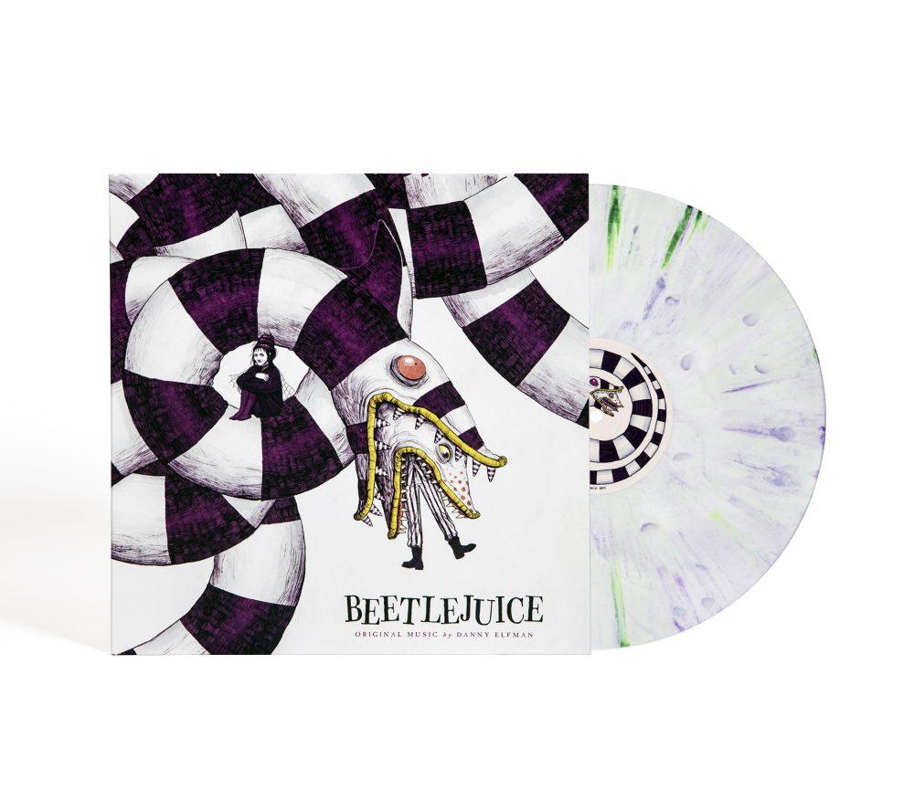 Beetlejuice Soundtrack, photo courtesy Waxwork Records album artwork cover