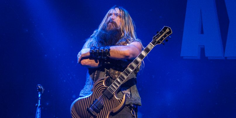 Zakk Wylde at Generation Axe Port Chester NY 2018