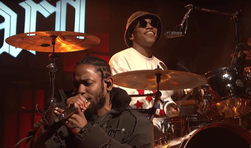 Kendrick Lamar and Anderson .Paak