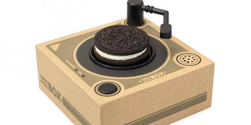 Oreo Record Player