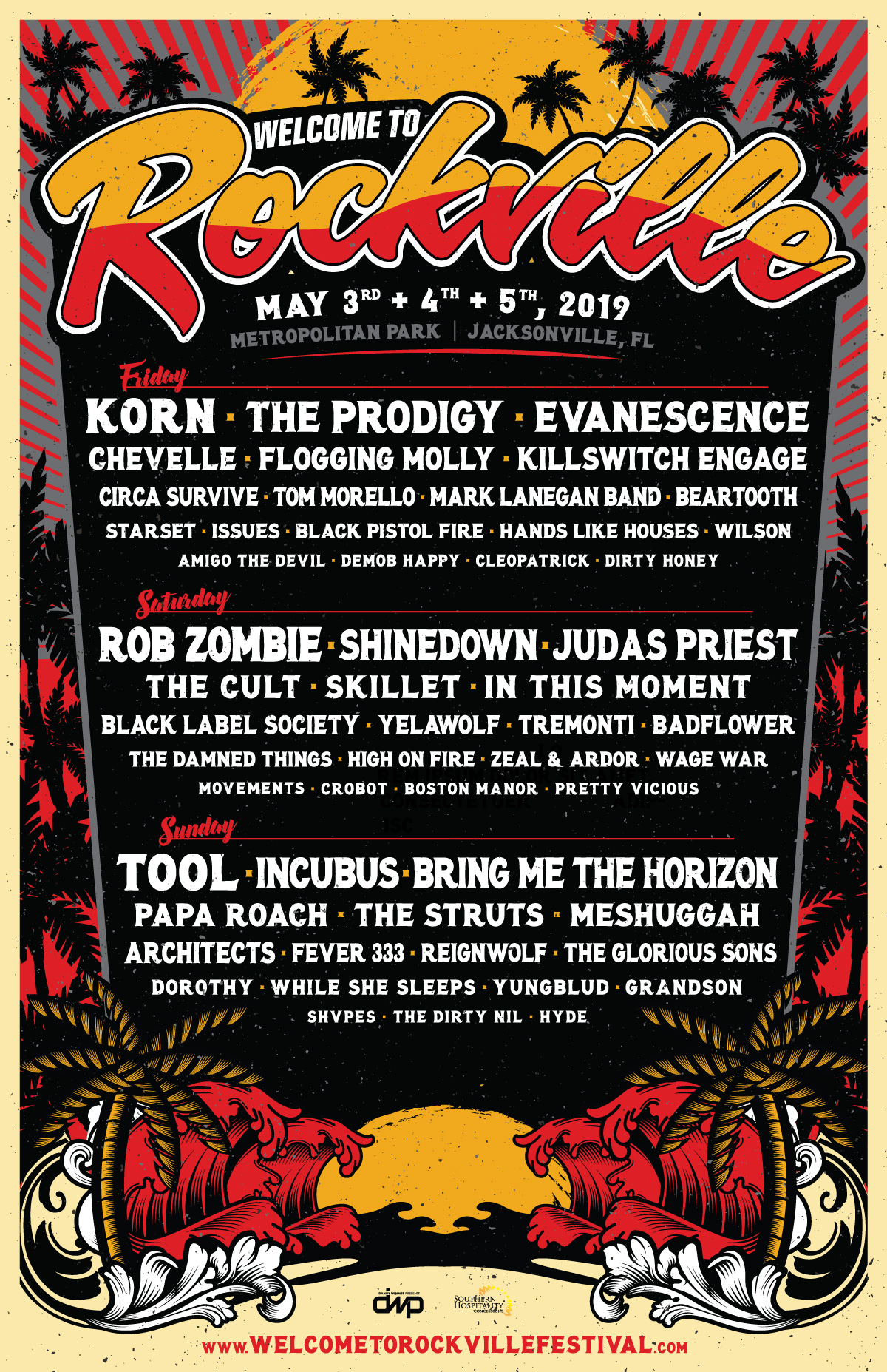 Welcome to Rockville 2019 Poster
