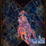 avey tare cows on hourglass pond album cover artwork