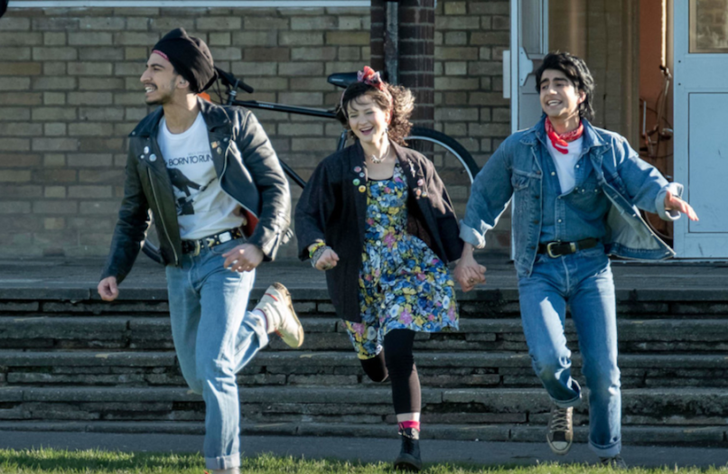 blinded by the light bruce springsteen gurinder chadha viveik kalra, nell williams