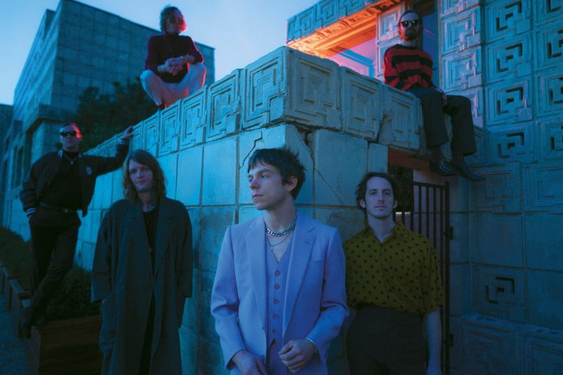 "Cage the Elephant Social Cues album announcement, ""Ready to Let Go"" single"