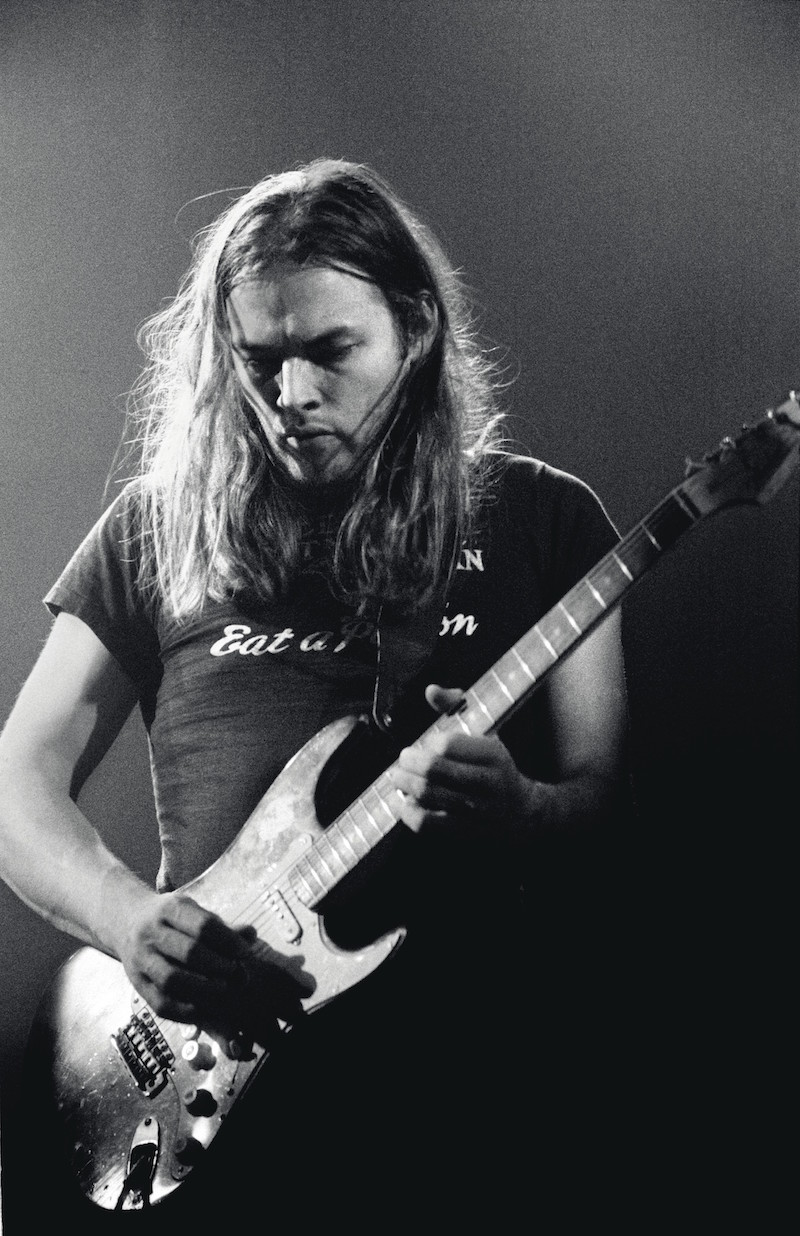 David Gilmour Black Strat Pink Floyd 1973