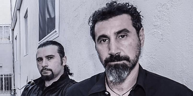 John Dolmayan and Serj Tankian