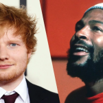 Ed Sheeran and Marvin Gaye