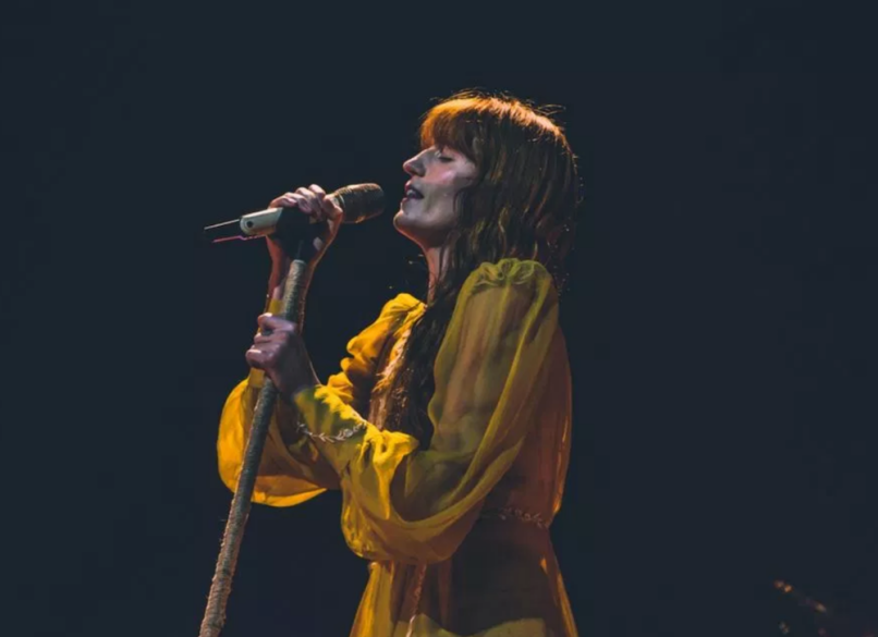 "video Florence + the Machine new song ""Moderation"" debut Perth RAC Arena"