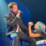 Lady Gaga and Bradley Cooper live in Las Vegas