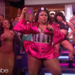 "Lizzo TV debut ""Juice"" Ellen video"