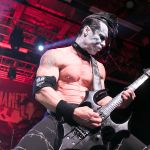 Doyle Wolfgang Von Frankenstein performs with Metal Allegiance