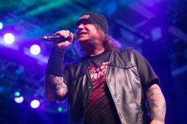 Exodus' Steve Souza performs with Metal Allegiance