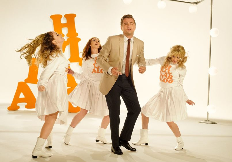 Leonardo DiCaprio, Quentin Tarantino, Once Upon a Time in Hollywood, Vanity Fair, 2019